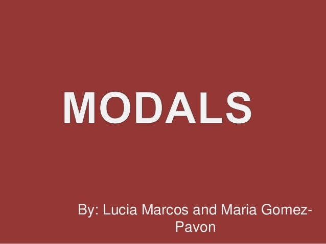 By: Lucia Marcos and Maria Gomez-              Pavon