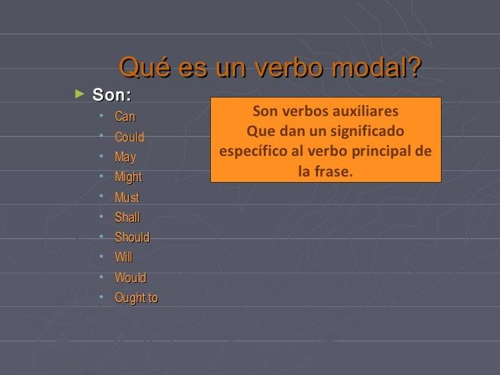 English Modal Verbs En Espa 241 Ol