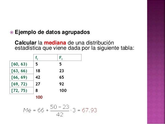 Como sacar la mediana en estadística