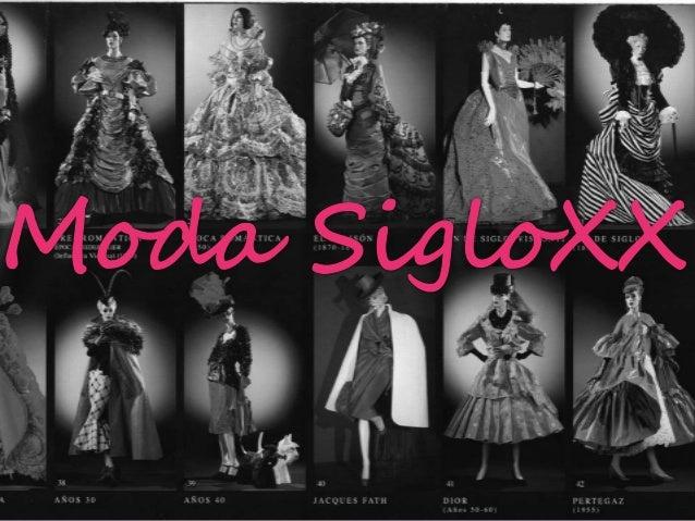 Durante el comienzo del siglo  XX la alta moda se originaba  en Paris y también en  Londres pero no tanto. La  moda de Par...