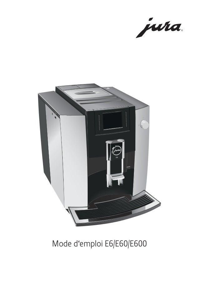 Mode d'emploi E6/E60/E600