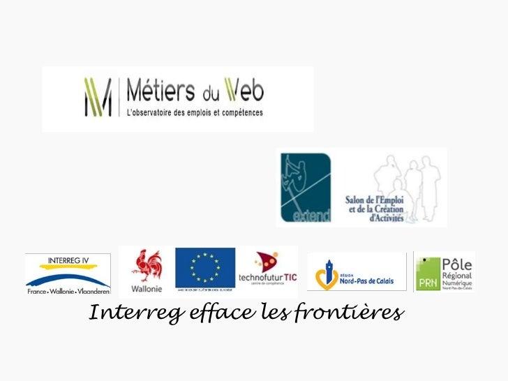Interreg efface les frontières<br />