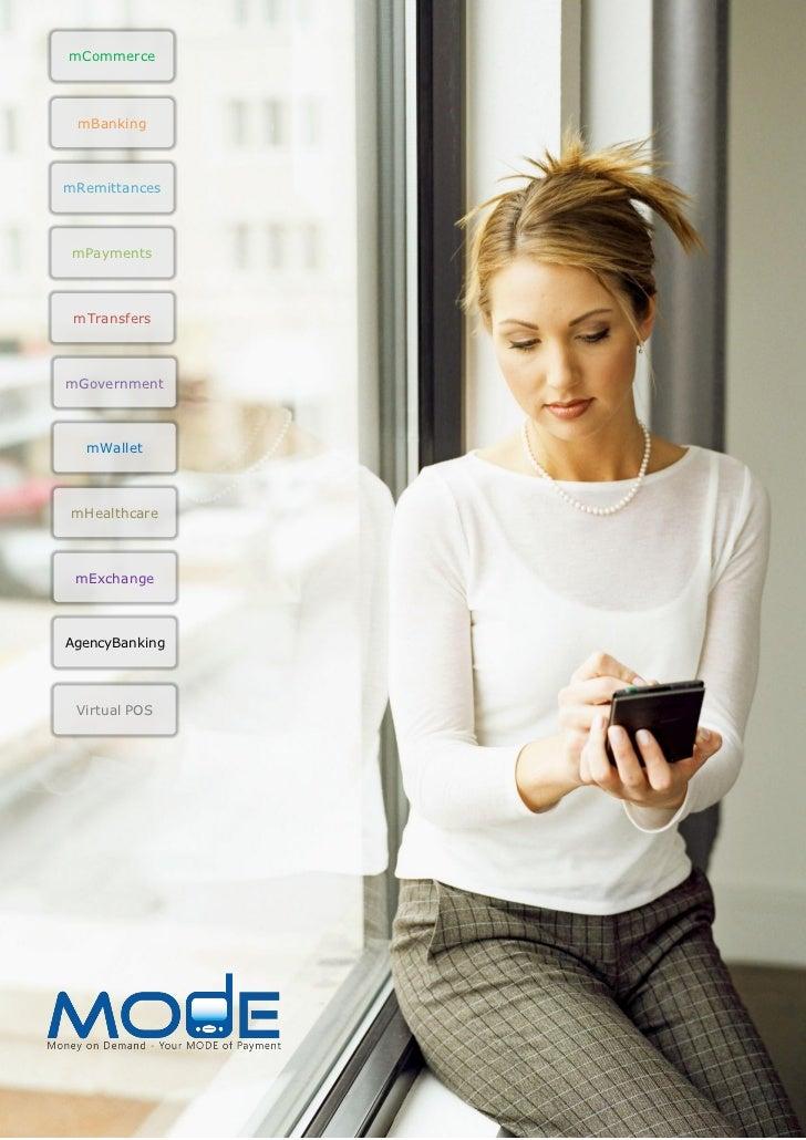 mCommerce mBankingmRemittances mPayments mTransfersmGovernment  mWalletmHealthcare mExchangeAgencyBanking Virtual POS