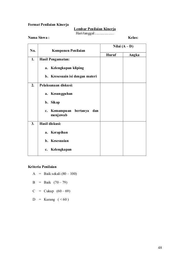 Rubrik penilaian essay