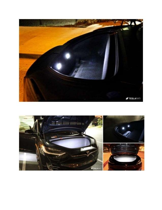 EVANNEX LED Lighting Upgrade Kit for Tesla Model X