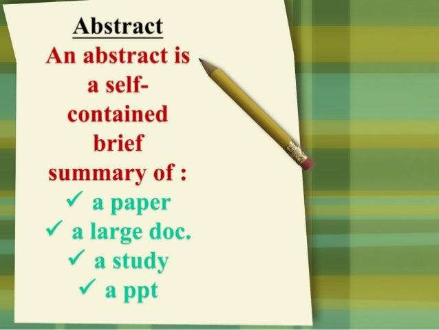 Model abstract Slide 2