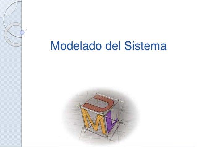 Modelado del Sistema