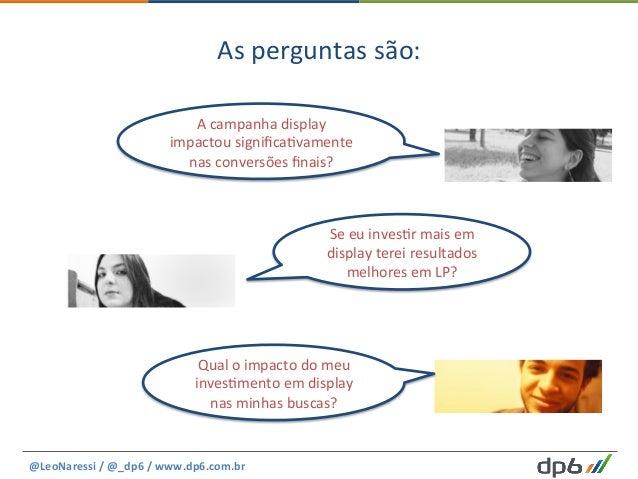 As  perguntas  são:   @LeoNaressi  /  @_dp6  /  www.dp6.com.br     Qual  o  impacto  do  meu  ...