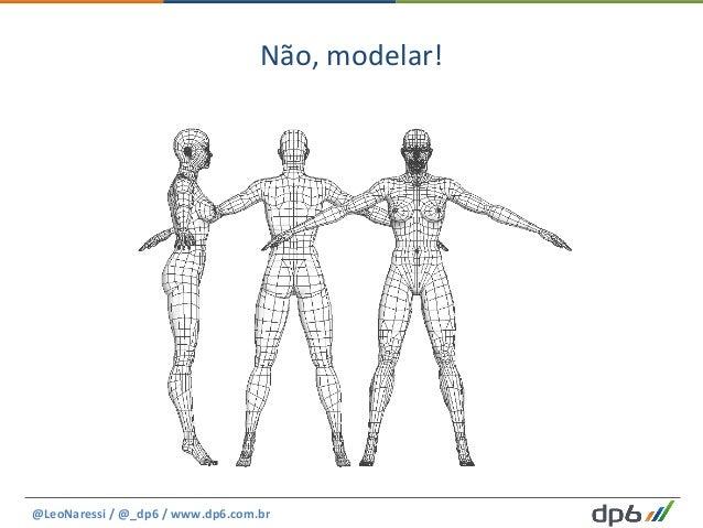 Não,  modelar!   @LeoNaressi  /  @_dp6  /  www.dp6.com.br