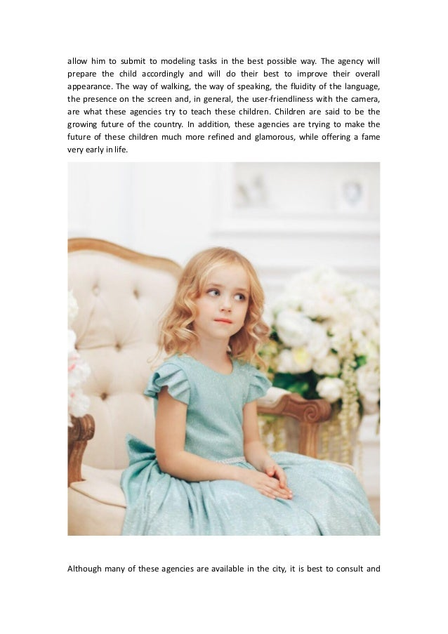 Model Agency for Kids - Choose the Best
