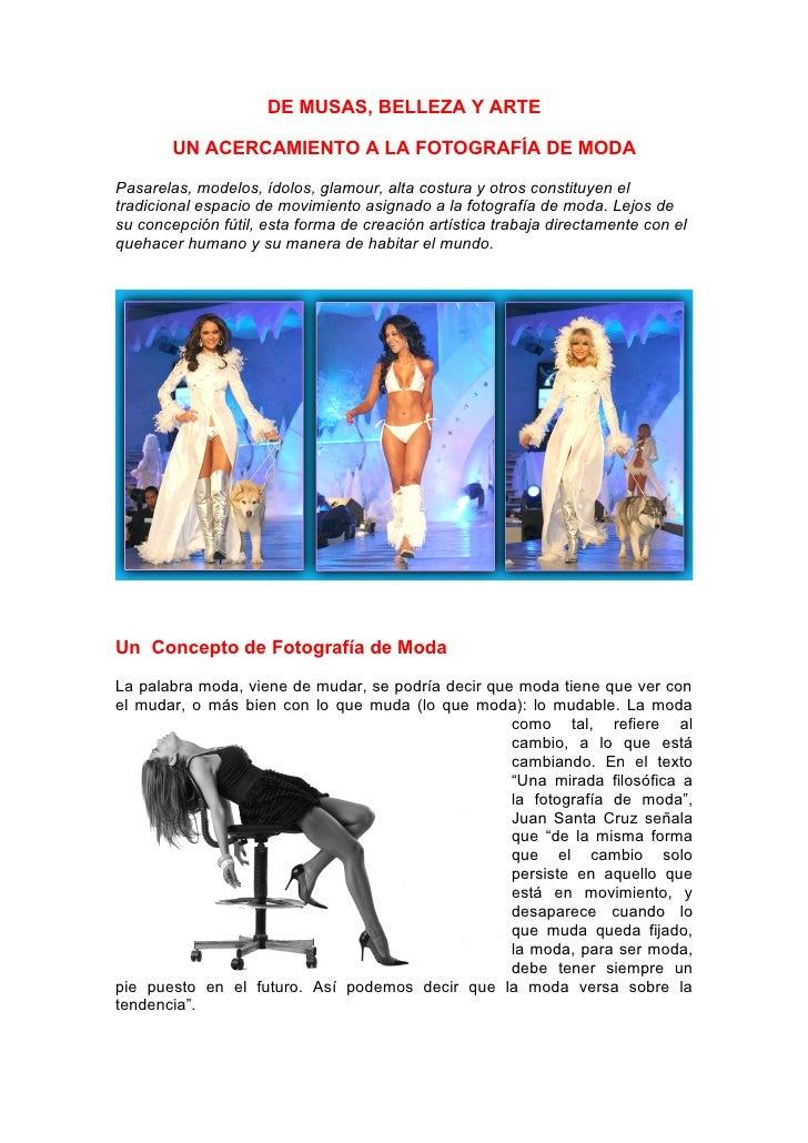 Modelaje fotografico