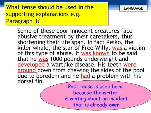 APA Style Guidelines on Verb Tense