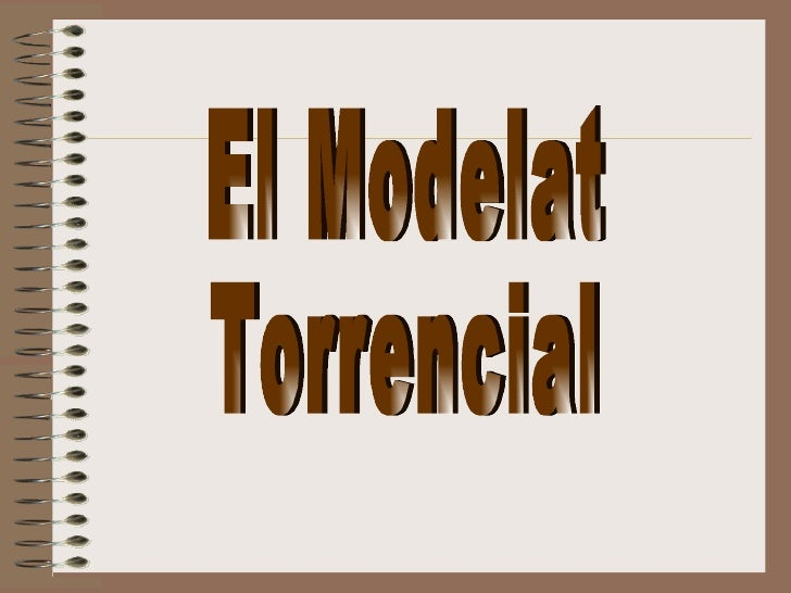 El Modelat Torrencial