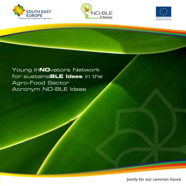 NO-BLE Ideas - brochure