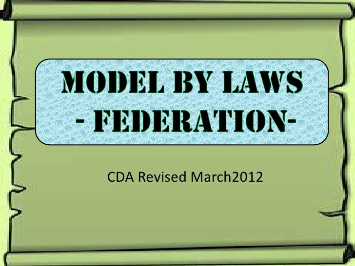 CDA Revised March2012