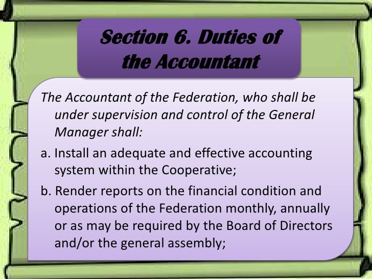 by laws and rules of accountant federation Accounting practices in russia  doing business in the russian federation —  general business information 6  thus, it enacts mandatory regulations.