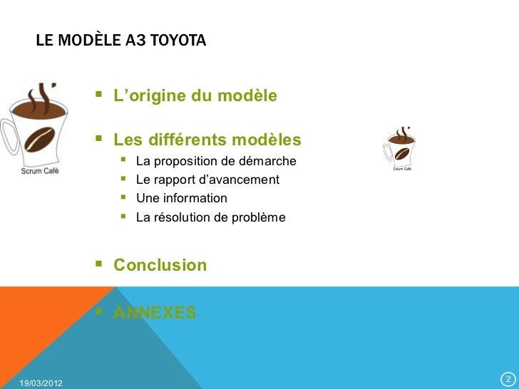Modele a3 toyota Slide 2