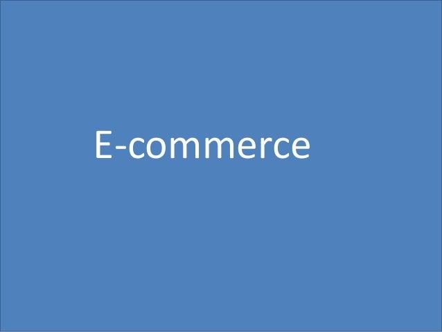 14 E-commerce
