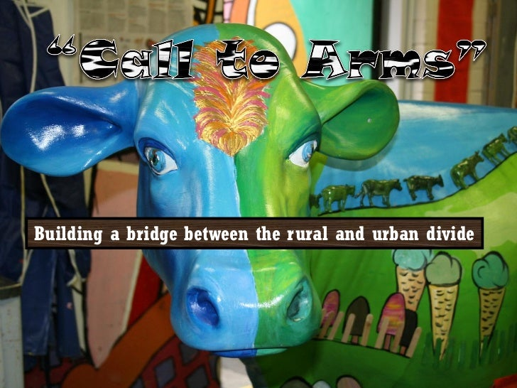 Building a bridge between the rural and urban divide