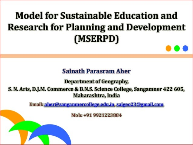 research papers on education for sustainable development Research paper on sustainable development this sample research paper on sustainable development features 4200+ words (14 pages) and a bibliography with 49 sources the idea of sustainable development dominates late-twentieth-century discussions of environment and development policy.