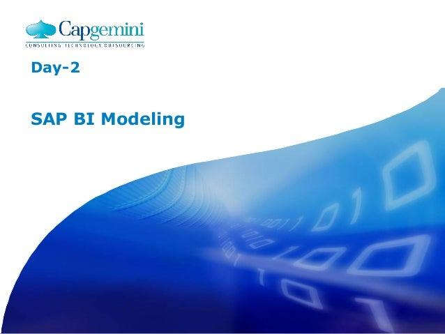 Day-2 SAP BI Modeling
