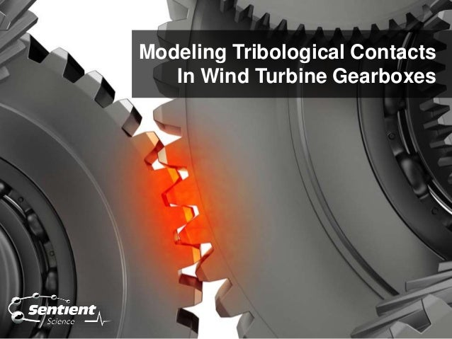 Modeling Tribological Contacts In Wind Turbine Gearboxes