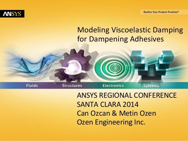 Modeling viscoelastic-damping-for-dampening-adhesives