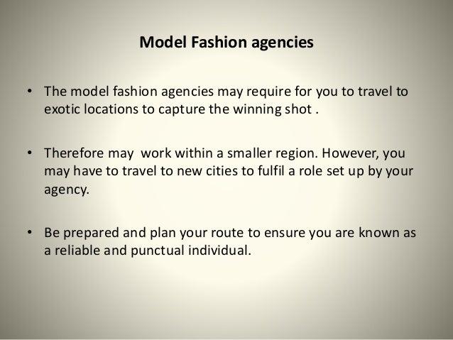 Modeling agencies benefits for models