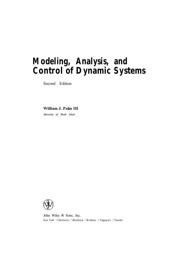 modeling analysis and control of dynamic systems rh slideshare net Dynamic Solutions Logo Dynamic Solutions Logo