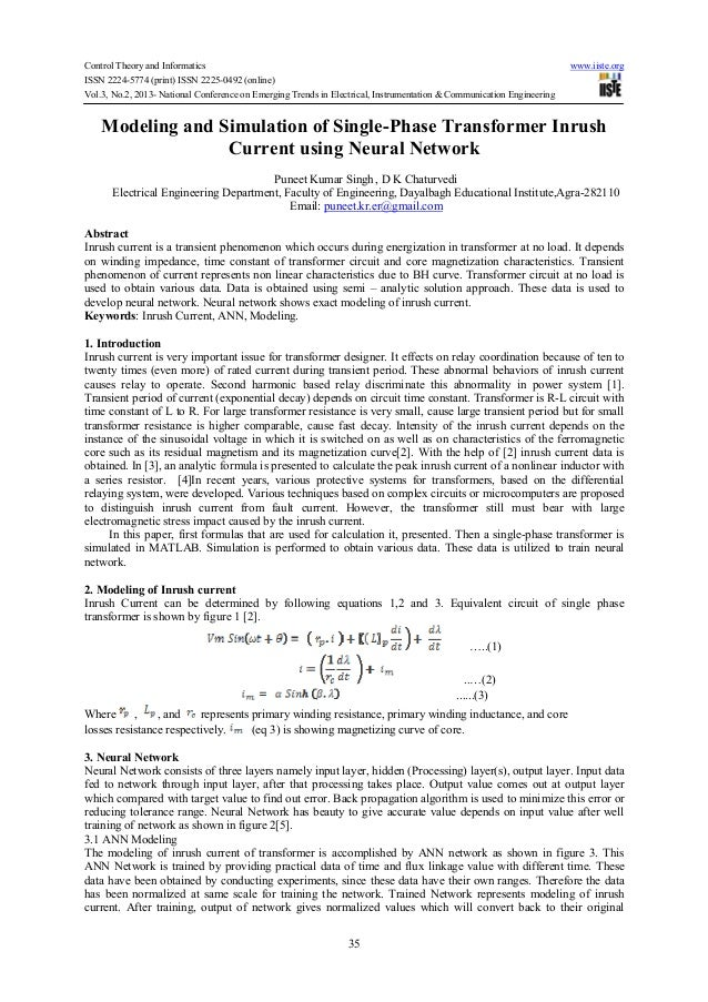 Control Theory and Informatics www.iiste.orgISSN 2224-5774 (print) ISSN 2225-0492 (online)Vol.3, No.2, 2013- National Conf...