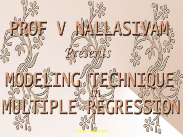 Prof V Nallasivam