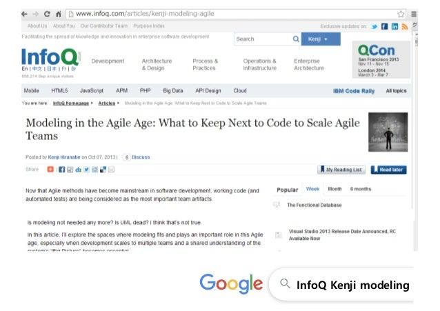 Modeling in the Agile Age and casual astah models