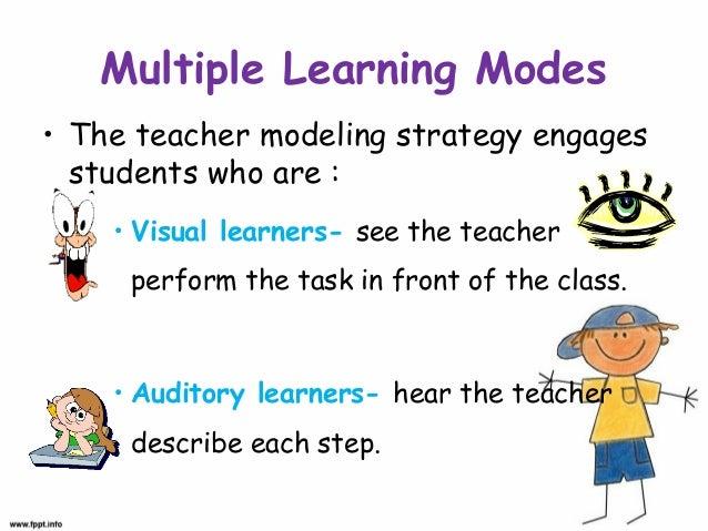 Modeling Behavior Modification Technique