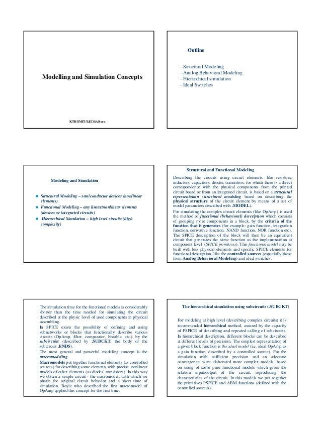 Outline                                                                     - Structural Modeling                         ...