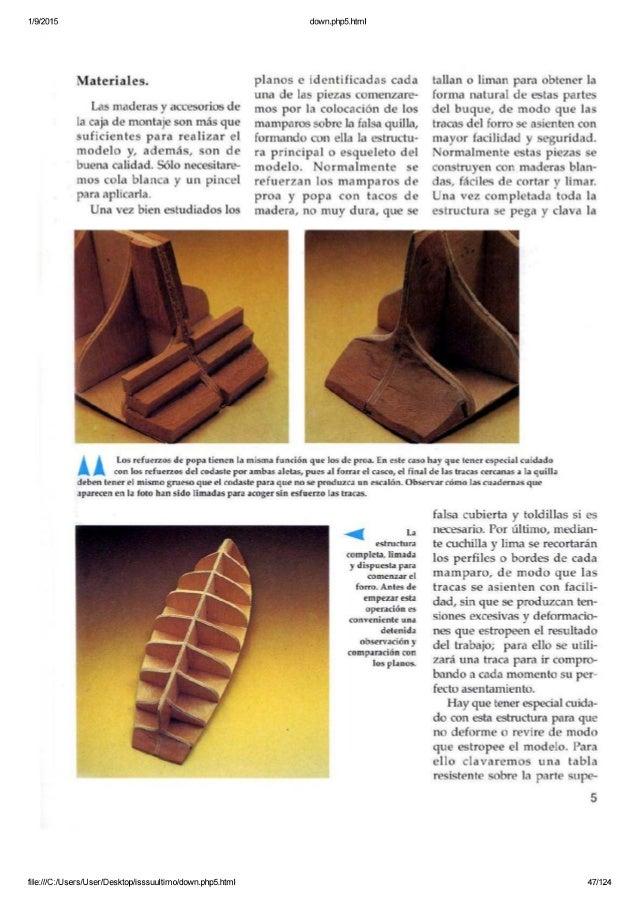 Modelismo naval de madera 5