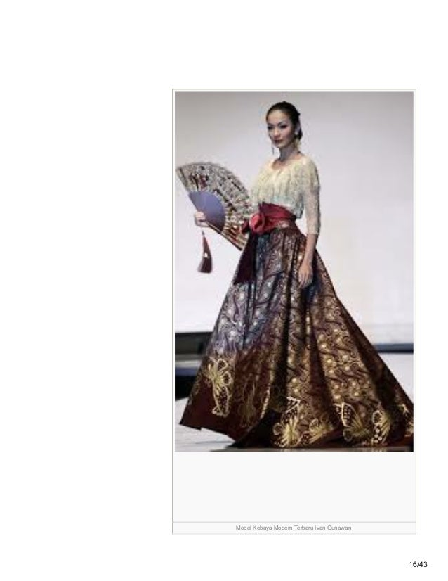 Modelkebayamodernterbaru Blogspot Com 70 Contoh Model Kebaya Modern T
