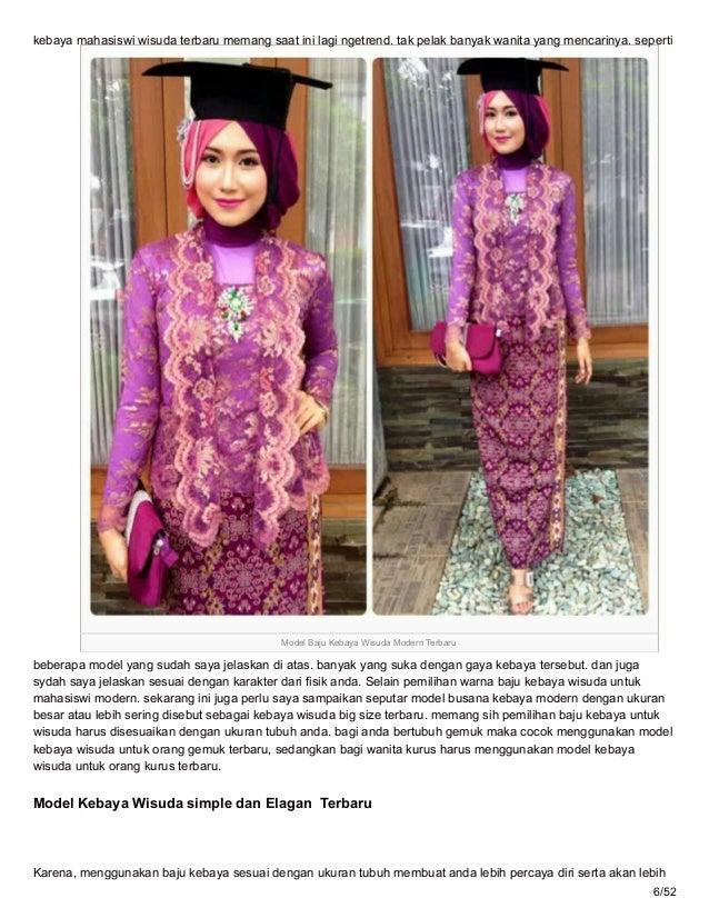 Modelkebayamodernterbaru Blogspot Com 75 Model Kebaya Wisuda Mahasisw