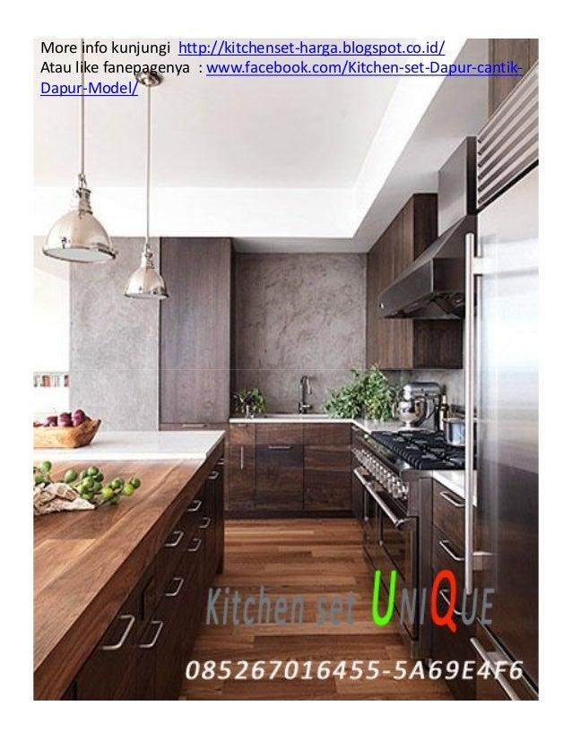 Model Kitchen Set Dapur Sempit Harga Kitchen Set Per Meter Kitchen