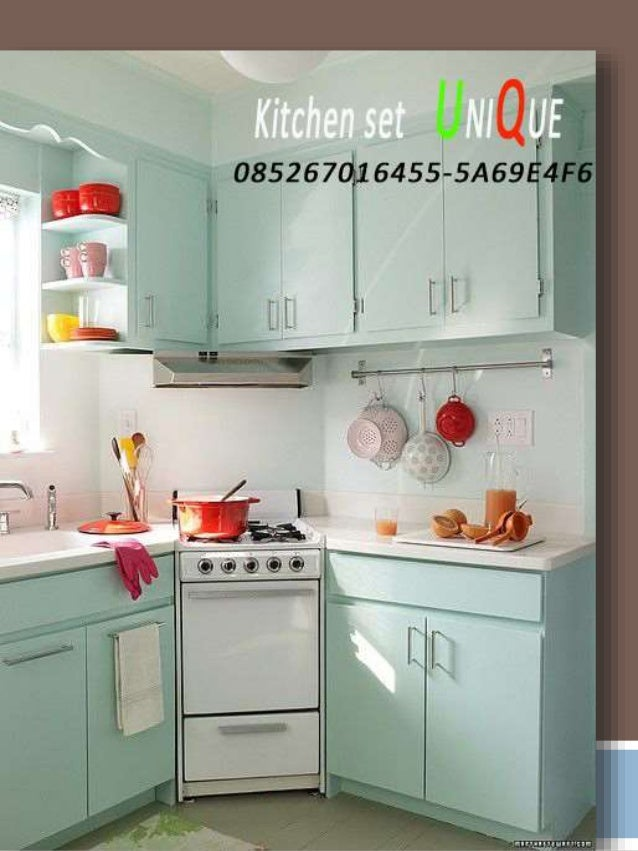 Model kitchen set minimalis aluminium harga kitchen set for Daftar harga kitchen set aluminium