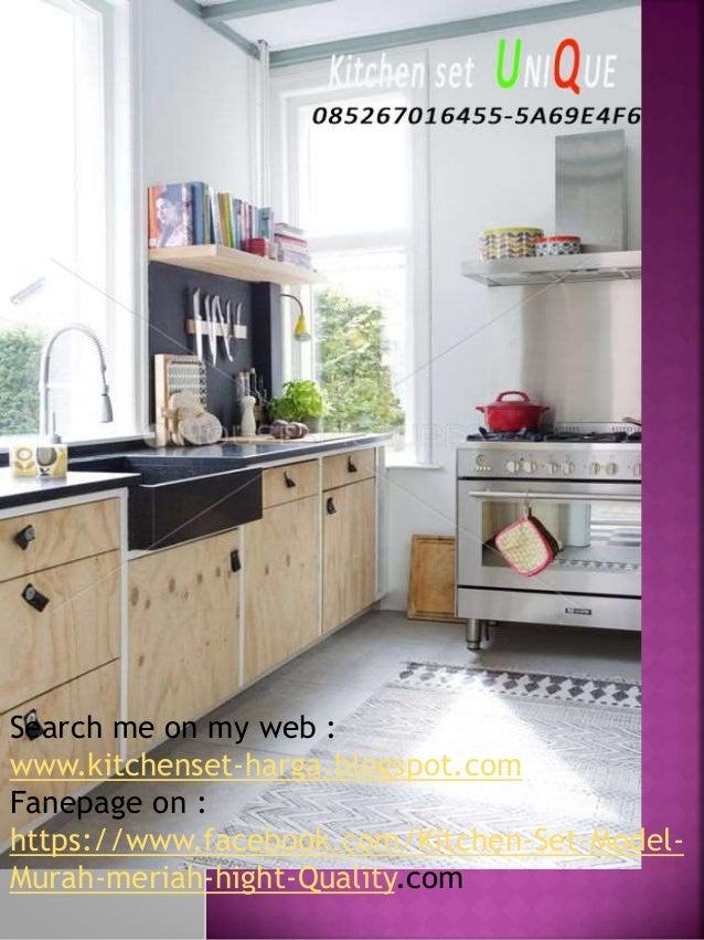 Model Kitchen Set Untuk Dapur Kecil Harga Kitchen Set Hpl Kitchen S