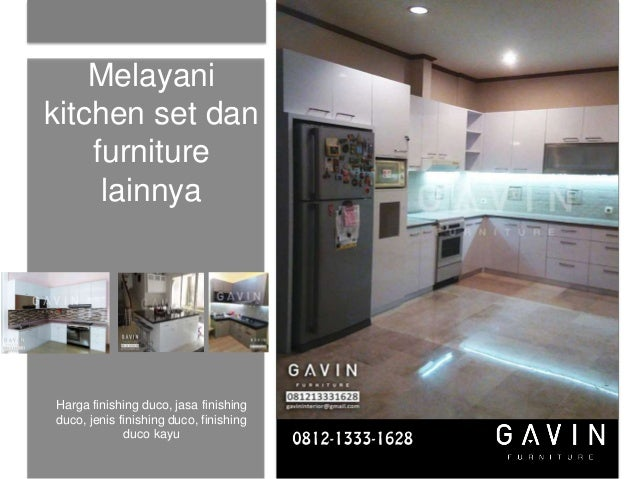 Harga Kitchen Set Per Meter Murah Gavin Furniture