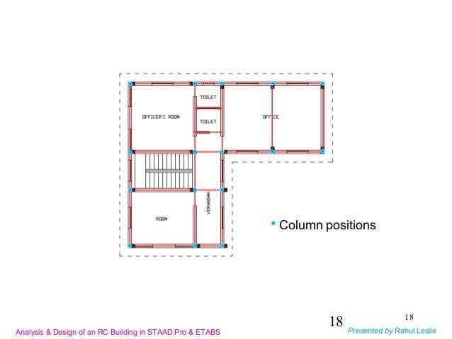 Design Of Multistorey Building Using Etabs