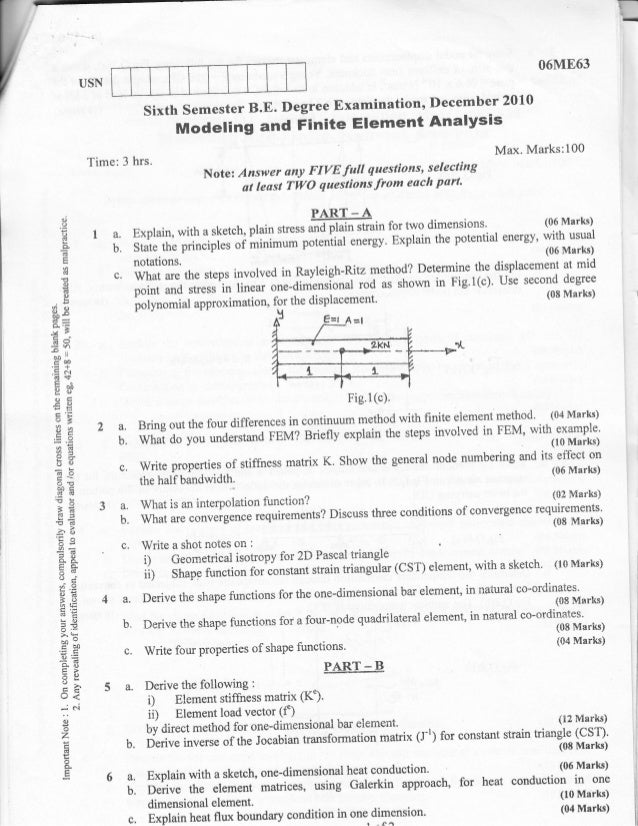 finite element analysis essay Finite element analysis of multi-physics and multi-scale physical problems in engineering and science  all papers will be peer-reviewed accepted papers will be published continuously in the journal (as soon as accepted) and will be listed together on the special issue website research articles, review articles as well as short.