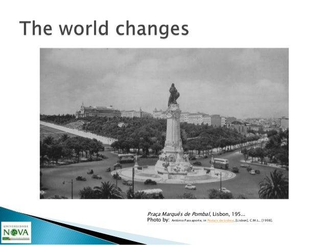 Praça Marquês de Pombal, Lisbon, 196... 197...Source: unkown