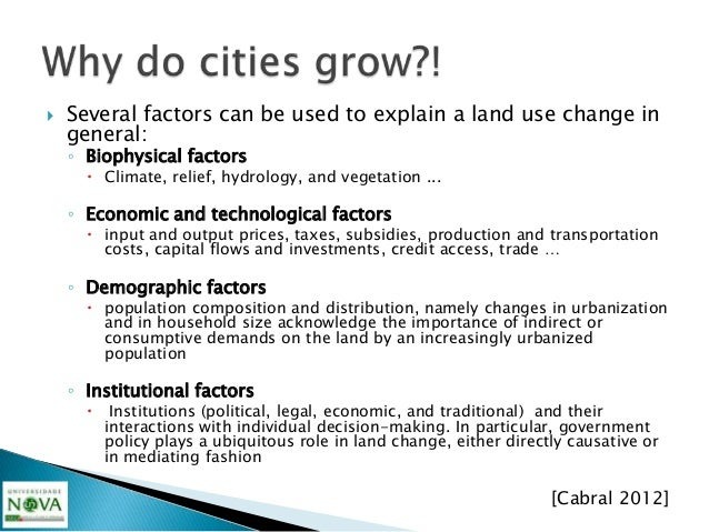 """""""Modeling is essential for the analysis, andespecially for the prediction, of the dynamics ofurban growth.Yet the successf..."""