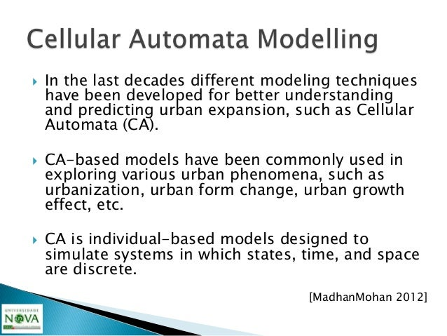    The data requirements for parameterization,    calibration and validation of urban models are    intense due to the co...