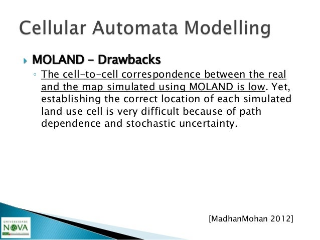    An agent-based model is a generalization of    cellular automata in which agents are able to    move around the space,...