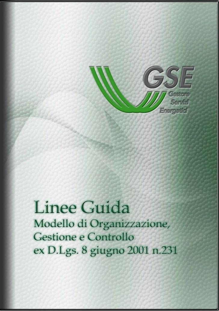 Documento approvato dal CdA GSE con delibera del 22-04-2010                                                 —2—