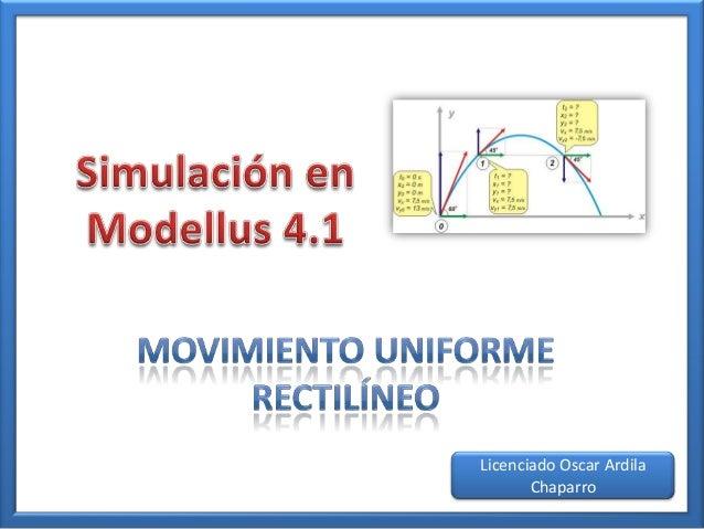 modellus 4.01