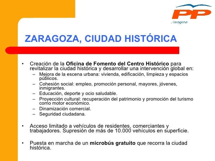 Modelo de ciudad para zaragoza 2008 2018 for Oficina de empleo ranillas